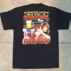 Save A Barstool Ride A Drunk t-shirt
